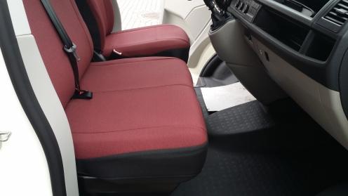 Schonbezüge Doppelsitzbank
